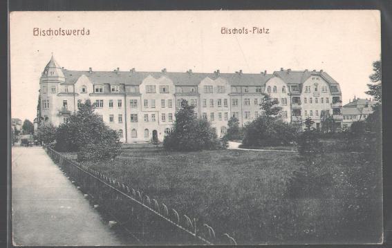 tolle-AK-Bischofswerda-Der-Bischofs-Platz