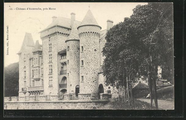 CPA-Murat-Chateau-d-Auteroche-1906