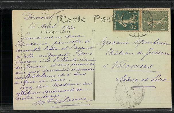 CPA-Domont-La-Chancellerie-avec-le-jardin-1920