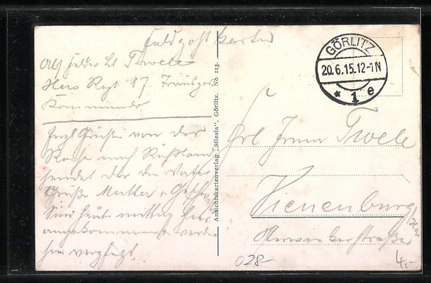 tolle-AK-Goerlitz-Landeskrone-von-den-Feldern-aus-gesehen-1915