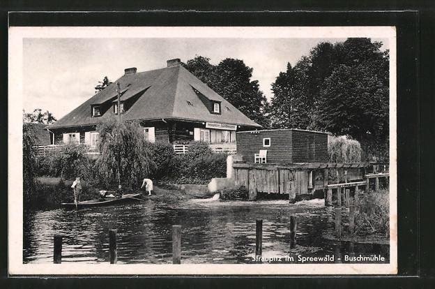 AK-Straupitz-Gasthaus-Buschmuehle