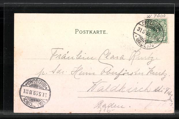 AK-Offenburg-Totalansicht-Marktplatz-1899
