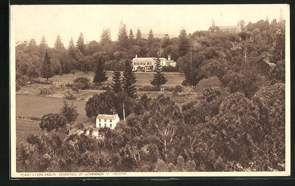 CPA-St-Helena-Plantation-House-Residence-of-Governor